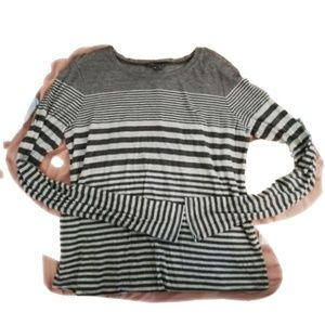 Vince grey long sleeve top size M